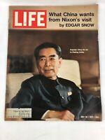 LIFE MAGAZINE July 30 1971 What China Wants From Nixon  Pekings View of Nixon