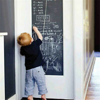 Removable Kids Rooms Chalk Board Blackboard Vinyl Art Draw Decor Stickers
