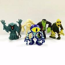 5 Scooby Doo Crew Mystery Mates Mummy Zombie Monster Figures HA271
