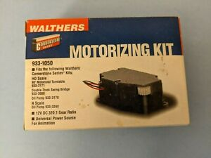 Walthers #933-1050 Motorizing Kit HO Model railroad new in box
