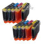 10 CARTUCCE x CANON PIXMA IP 4200 4300 4500 CON CHIP già installato compatibili