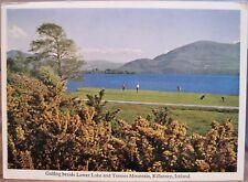 Irish Postcard Golf Golfing KILLARNEY Ireland Lower Lake Tomies Mac Series 1968