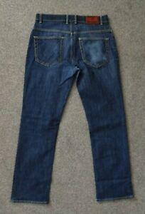 Mens GANT Jason Regular Fit Blue Denim Jeans - W32 L32