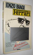Enzo Biagi FERRARI Rizzoli 1980 autograph signed numerato autografo NIKI LAUDA
