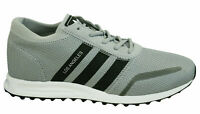 Adidas Los Angeles Mens Trainers Lace Up Shoes Grey Black Textile BY9605 B12C
