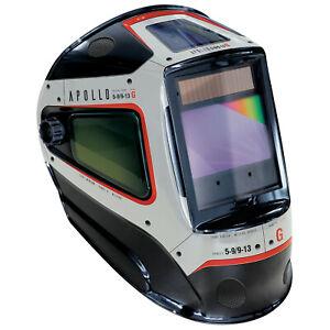 XL True Colour Apollo 5-13 Auto Darkening Welders welding helmet headshield