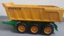 Bruder JOSKIN Wannenkippanhänger 1:16 Spielzeug Anhänger Modell
