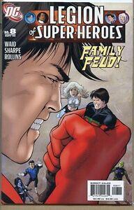 Legion of Super-Heroes 2005 series # 8 very fine comic book