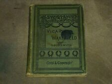 Oliver Goldsmith The Vicar of Wakefield Hardcover 1889
