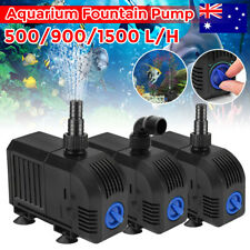 Submersible Water Pond Pump Aquarium Fish Tank Fountain 500 900 1500 L/H Black