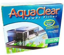 AquaClear 70 Aquarium Power Filter (300 GPH - 40-70 Gallons)