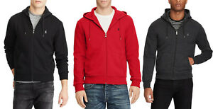 Polo Ralph Lauren Double Knit Tech Fleece Hoodie Jacket New