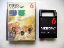Jeu Philips Videopac - JEU DE QUILLES - BASKET BALL  - N° 6