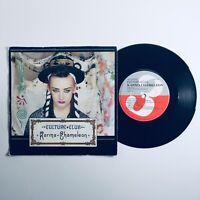 "Culture Club - Karma Chameleon 7"" Single Vinyl Record (1983) VS612"