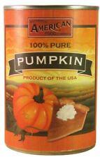 6x AAFC 100% Pure Canned Pumpkin 425g