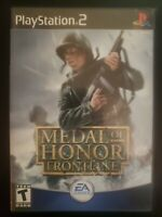 Medal of Honor: Frontline Sony PlayStation 2 WITH CASE BUY 2 GET 1 FREE