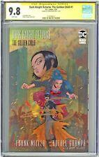 Dark Knight Returns The Golden Child #1 CGC 9.8 SS Grampa 1st Print Sig Miller