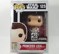 Exclusive Star Wars Celebration Orlando 2017 Funko Princess Leia Hoth #125 New