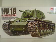 Russischer Panzer KV 1B     - Tamiya  Bausatz 1:35 -  35142  #E