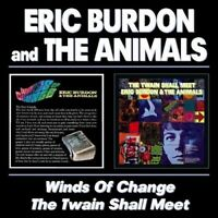 ERIC AND THE ANIMALS BURDON - WINDS OF CHANGE/TWAIN SHALL MEET 2 CD NEW!