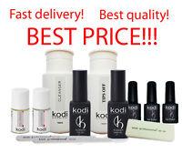 Kodi - Gel LED/UV Rubber Base / Rubber Top / Nail fresher / Tips off / Ultrabond