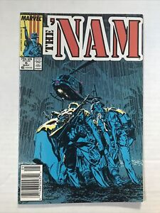 The 'Nam #6 - VF - 1987 Marvel Comic - Newsstand