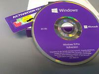 Microsoft Windows 10 Professional 64 Bit DVD incl. COA OEM Win 10 Pro