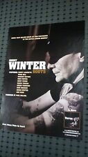 POSTER by JOHNNY WINTER roots guitar legend For the tour concert show album cd