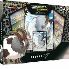 Pokemon TCG Champion's Path Dubwool V Box Collection 4 Booster Packs