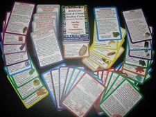 NEW GEM + CRYSTAL HEALING + DESCRIPTION CARDS Tarot