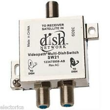 ORIGINAL SW-21 DISH NETWORK MULTI-SWITCH DISHNET SW21 LNB 119 110 129 BELL 82 91
