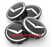 Adler-Kappen für Felgen - Kia Sportage SL (2010 - 2015) Tuning-Zubehör schwarz