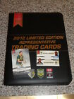 2012 NRL LIMITED EDITION BINDER & SET OF 72 CARDS AND JENNINGS & MERRITT CARD