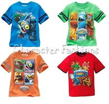 SKYLANDERS GIANTS 4 Boys Short Sleeve Shirt Tee Top