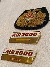 Air 2000 Badges
