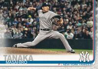 2019 Topps Masahiro Tanaka Series 2 #396 New York Yankees Baseball card