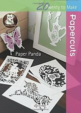 Twenty to Make Papercuts by Louise Firchau and Paper Panda (2015, Paperback) NEW