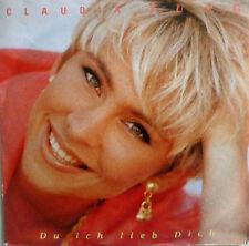 """7"""" 1992 RARE IN MINT- ! CLAUDIA JUNG : Du ich lieb Dich"""