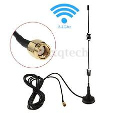RP-SMA 2.4GHz 7DBI Wireless Wifi WLAN Router 5 X Range Booster Extender Antenna