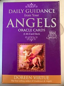 DOREEN VIRTUE ANGEL ORACLE CARDS, BEAUTIFUL CARDS. 44 CARDS IN PACK.