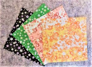 20 Pcs Origami Paper 15 x 15cm - Japanese Flower Pattern Scrapbook DIY Origami.