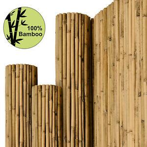 Sichtschutzzaun Bambus Sichtschutz Sichtschutzmatte Bambusmatte Windschutz Zaun