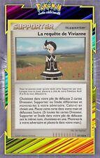 🌈La requête de Vivianne - DP07:Tempête - 87/100- Carte Pokemon Neuve Française