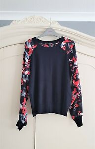 Excellent condition TOP SECRET lightweight knitted blouse sweater Eur 34 UK 8