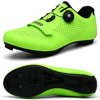 Men's Road Cycling Shoes Indoor Spinning Shoes Outdoor SPD Lock Pedal Bike Shoes
