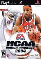NCAA March Madness 2004 - Sony PlayStation 2 PS2