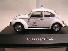 IXO / ATLAS 1/43   -  VOITURE DE POLICE VOLKSWAGEN 1302  (EN BOÏTE)