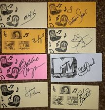 8 County Music AUTHENTIC Autographs