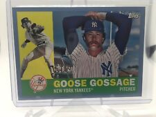 2017 Topps Archives Light Blue Border Parallel Goose Gossage Yankees 25/75