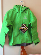 Mens New Arcteryx Alpha SV Jacket Size Small Color Rhodei